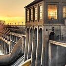 Overholser Dam - Oklahoma City by Jim Felder
