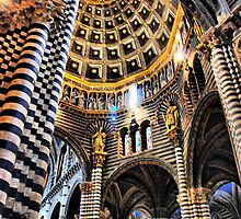 Siena Cathedral. Interior by andreisky