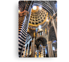 Siena Cathedral. Interior Metal Print
