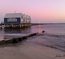 Busselton Jetty, Busselton WA by Julia Harwood