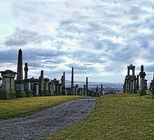 Glasgow`s Necropolis by Alex Hardie