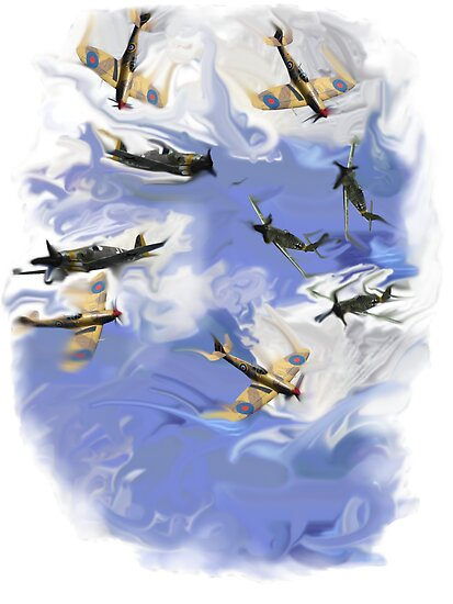Never in the field of human conflict was so much owed by so many to so few. Winston Churchill. by Alex Gardiner