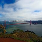 Golden Gate Bridge by Roi  Brooks