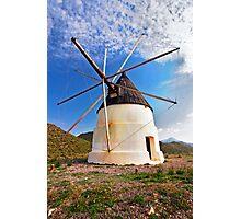 molino de Cabo de Gata Photographic Print
