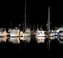 An Evening at the Marina - Hamilton Island, Australia  by Alfredo Estrella