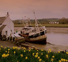 Fishing Boat at Kirkcudbright Harbour by ArtisanArts