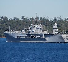 USS Blue Ridge visits Sydney by Tim Pruyn