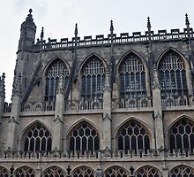 The Side Of Bath Abbey by James J. Ravenel, III