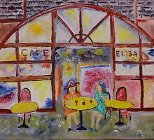 Cafe Elisa by James Bryron Love