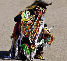 Traditional Dancer by Linda Sparks