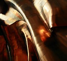 Abstract view of The EMP/SFM Seattle by John Gaffen