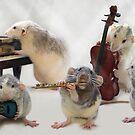 My little rats  by Ellen van Deelen