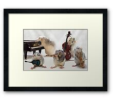 The Quintet Framed Print