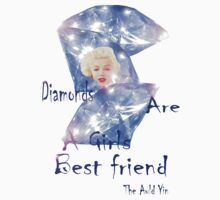 "Diamonds are a Girls best friend ""T"" by Alex Gardiner"