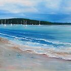 Summer Bay  - Palm Beach by Tom Godfrey
