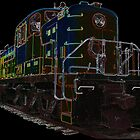 ALCO Diesel Electric Locomotive by John Gaffen