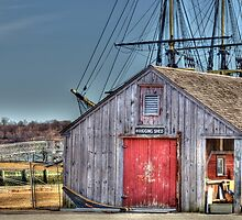 The Rigging Shed by Monica M. Scanlan