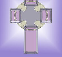 Celtic cross No.1 by MarjorieB