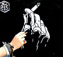 Banksy Smoking. by katielovesphoto