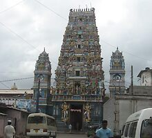 Hindu Church Sri Lanka by Camille Jackson