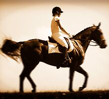 Dressage = playing with a theme by Greg Carrick