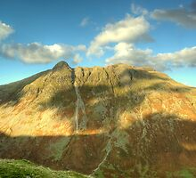 The Langdale Pikes in October by VoluntaryRanger