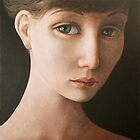 Portrait of a young woman (18). by ipalbus-art