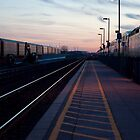 Oshawa Train Station Tracks by Gary Chapple