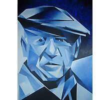 Cubist Portrait of Pablo Picasso: The Blue Period Photographic Print