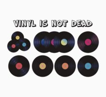 Vinyl Is Not Dead T-Shirt by eyevoodoo