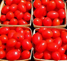Fresh Tomatoes by Elizabeth Hoskinson