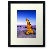 Glowing from within Framed Print