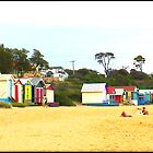 Mornington Beach by Maureen Clark