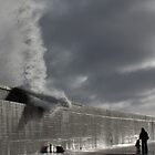 January storm - Fraserburgh Harbour by Copperhobnob
