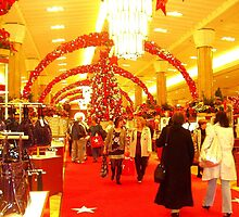 """ Yeah, I shopped at Harrods last year..."" Christmas at Macys 2007 by MrsOulgundog"