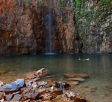 A swim at the Emma Gorge  by Stephen Colquitt