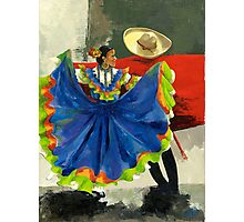Mexican Dancers - Elegance and Magic Photographic Print