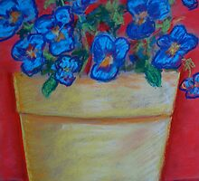 The Yellow Flowerpot by Marita McVeigh