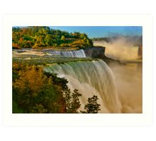 Sunrise Over Niagara - Niagara Falls Art Print