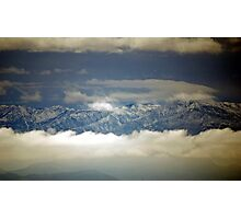 Just Above The Clouds Photographic Print
