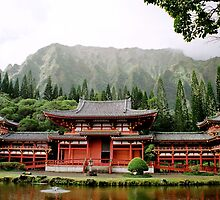 Byodo-In Temple by Oksana Fox