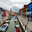 Boats, Burano by Harry Oldmeadow