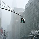New York 42th Street - Traffic light by Yannick Verkindere