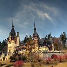Peles Castle HDR by Bogdan Ciocsan