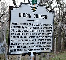 Biggin Church History by James J. Ravenel, III
