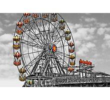 Skeggy Giant Wheel Photographic Print