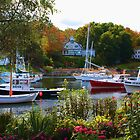 PERKINS COVE by Arline Grant
