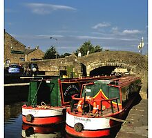 Skipton Canal by Alikat72
