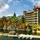 Mohonk Lake by Claudia Kuhn
