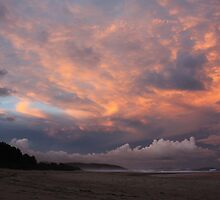 Orange sky - Sawtell nsw by kurtbrunke